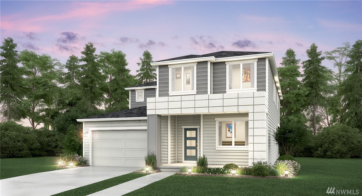 Introducing our Modern Exterior Collection at Northpoint at Maple Centre by Lennar! Beautiful expansive kitchen & great room design w/bedroom & bath on main floor. Formal dining room, plus walk-in pantry. Laminate floors, Stainless appliances w/ built-in double wall ovens & 5 burner gas cooking. French door refrigerator included, quartz kitchen counters. The upper master suite is inviting w/walk-in closet & nicely appointed bath. Rendering for illustration only.