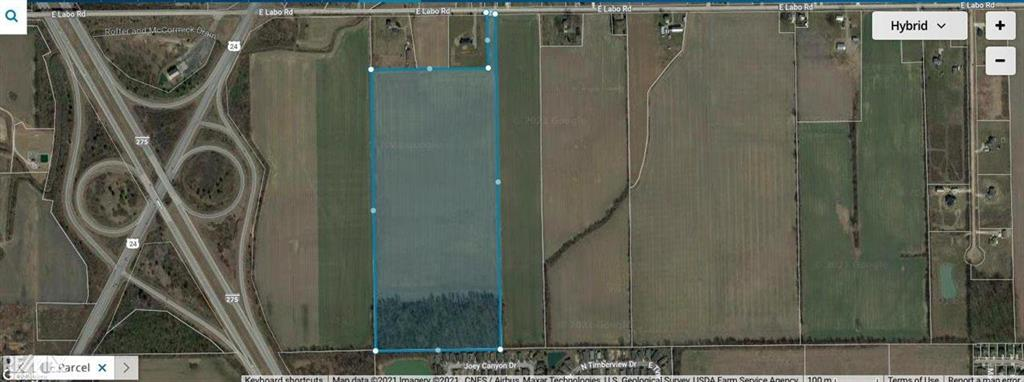 GREAT 50 ACRE SITE w/ CLEARING DONE, 85% TILLABLE GROUND,  High & Dry PARCEL, Telegraph & I-275. Super prime location 50 acres loacted at Hwy 275 and Telegraph Rd in Ash Twp.