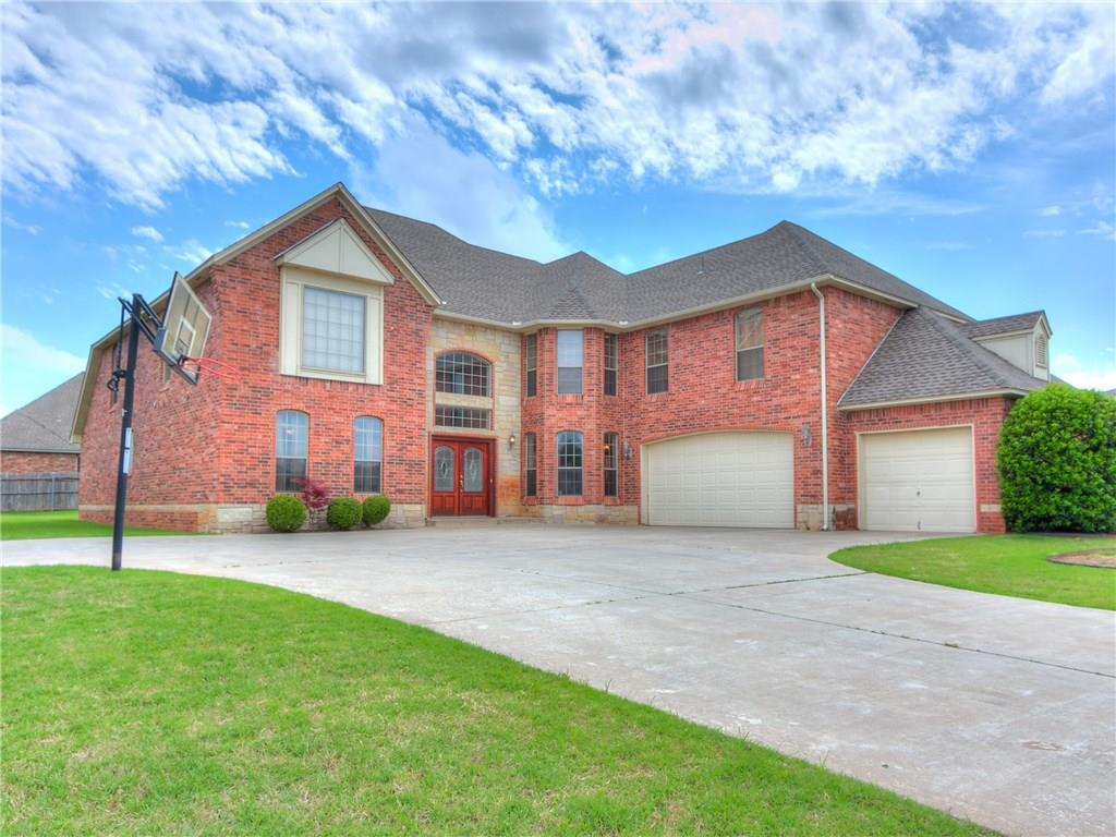 One-owner home with unsurpassed quality and craftsmanship on a corner lot.  24-foot entry foyer with sweeping split staircase.  Open formal and casual living spaces for easy entertaining. The family room opens to the kitchen & eat-in area for easy entertaining. You'll love the stunning kitchen w/brickwork over range, breakfast bar plus island and pantry. Upstairs game room with a kitchenette, large enough to accommodate large game table. 4 beds up plus Study with glass doors and a landing area. Take a break from entertaining and relax in the expansive first floor master suite featuring a sitting area, double vanities, separate tub/shower, and 2 walk-in closets. Serene backyard setting is ideal for outdoor entertainment as it features an outdoor fireplace and covered patio. The home sits on .34 acres, enough room for a pool. Beautiful curb appeal. New Roof! Neighborhood features Community pool, ponds to fish w/ catch-release, club house & walking trails! Perfect for a large family.
