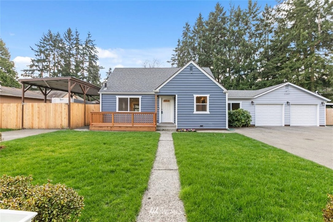 Beautifully remodeled home with spacious open floor plan in the desire neighborhood of Renton. Over 1/3 acre, 2 car garage. 4bd & 2.75 ba with finished addition that could be an ADU. All electrical and plumbing completed for this addition. New updates include: septic system, A/C, plumbing, roof, electrical, new windows & doors, high efficiency tankless water heater, high quality stainless steel appliances, fireplace, fully fenced & landscaped, RV parking, the list goes on. Conveniently located near Renton Golf Course, groceries, park, schools, freeways, restaurants, public transportation. Must see!