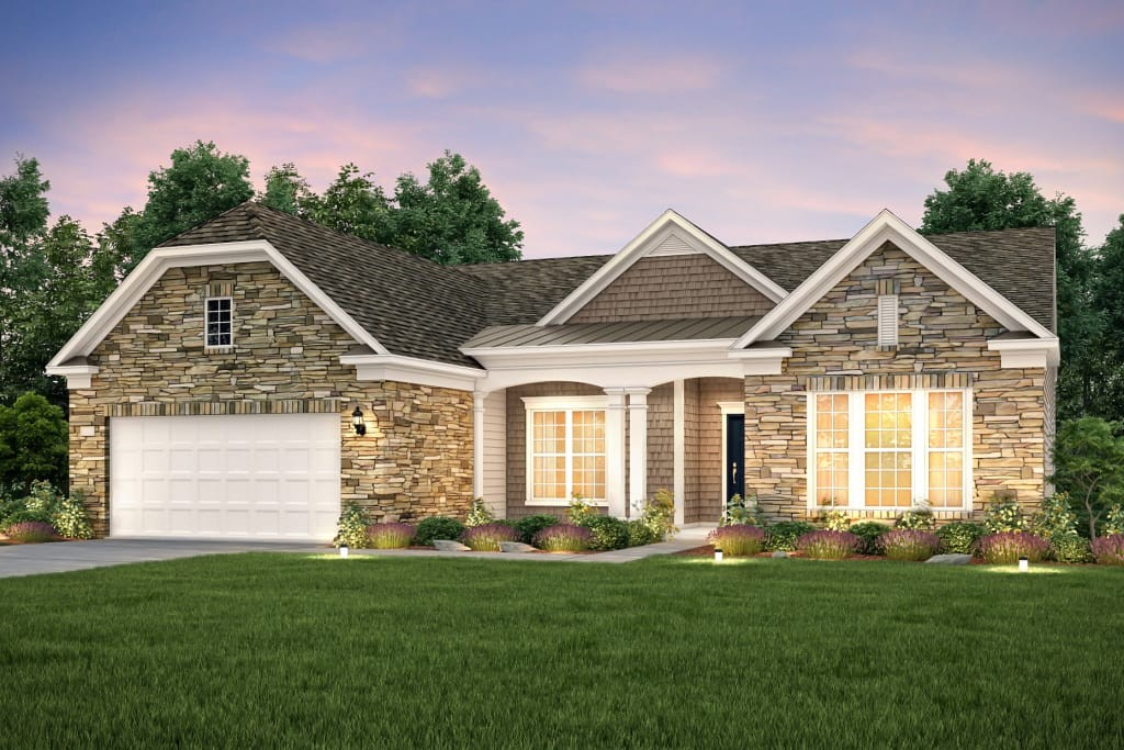 Amazing opportunity to own a brand new Dunwoody Way in the beautiful Southern Springs Del Webb active adult 55+ community. This home is FULL of great upgrades. You will enjoy a MASSIVE walk in shower complete with rainfall showerhead, a gorgeous stone fireplace, upgraded cabinets, quartz in the kitchen and bathrooms, and much more! AMENITIES GALORE: resort style pool, tennis courts, pickleball courts, yoga studio, dog park, gym, ballroom, 13 miles of sidewalk and more