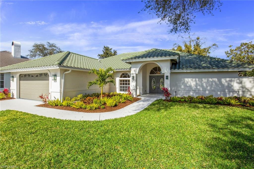 Completely remodeled pool home in Vineyard's highly desired Valley Oak!  The home has undergone a beautiful reno with new flooring, new appliances, new roof, and more!  This 3 bedroom pool home sits on a quiet cul-de-sac with views of lush landscaping.