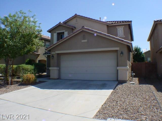 Aliante!  Lovely 3 bedroom home in Aliante! Spacious living room with adjoining dining area. Kitchen features breakfast bar, pantry, all appliances and dining nook.  Appliances being sold in As Is condition.  Patio in the rear.   Desert low maintenance landscaping.