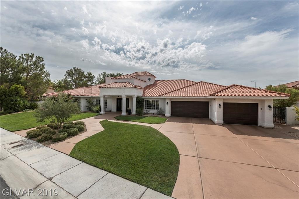 Like New, Remodeled  4901 st ft  4 bed, 5 bath, two family room, Custom One Story in Spanish Trail located in separately gated Innisbrook Estates, 20,473 sq ft lot, 4 car garage, third bay is tandem.  4 bedrooms all with  in-suite baths. Smart Home,cameras, led lighting, Large covered patio, Separate Patio/Cabana with/storage, Fruit Trees, play area, A/C upgrades to all 4 units with UV lighting,  plus roof and 2 water heaters.