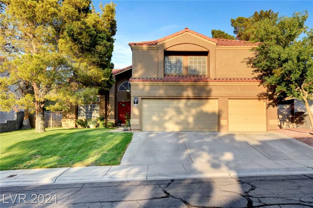 Welcome home to 40 Chesney Drive, a beautiful, updated family home in the heart of Green Valley. This perfect location features a quiet, well cared for community only minutes from major freeways and shopping. As you walk in, you will be greeted by tall vaulted ceilings in the formal living and dining room, leading the way to the beautiful large kitchen and oversized family room. This home features 6 bedrooms, 3 bathrooms and a perfect family space for you and your loved ones. With 5 bedrooms upstairs and 1 bedroom and bathroom downstairs, easy living is built-in. The remodeled primary bathroom features a custom stand-alone shower and oversized soaking tub. The outdoor living is designed for ease with a large covered patio, easy landscape and built in dog-run. Don't miss this opportunity today to take advantage of this large, beautiful family home in the perfect location.