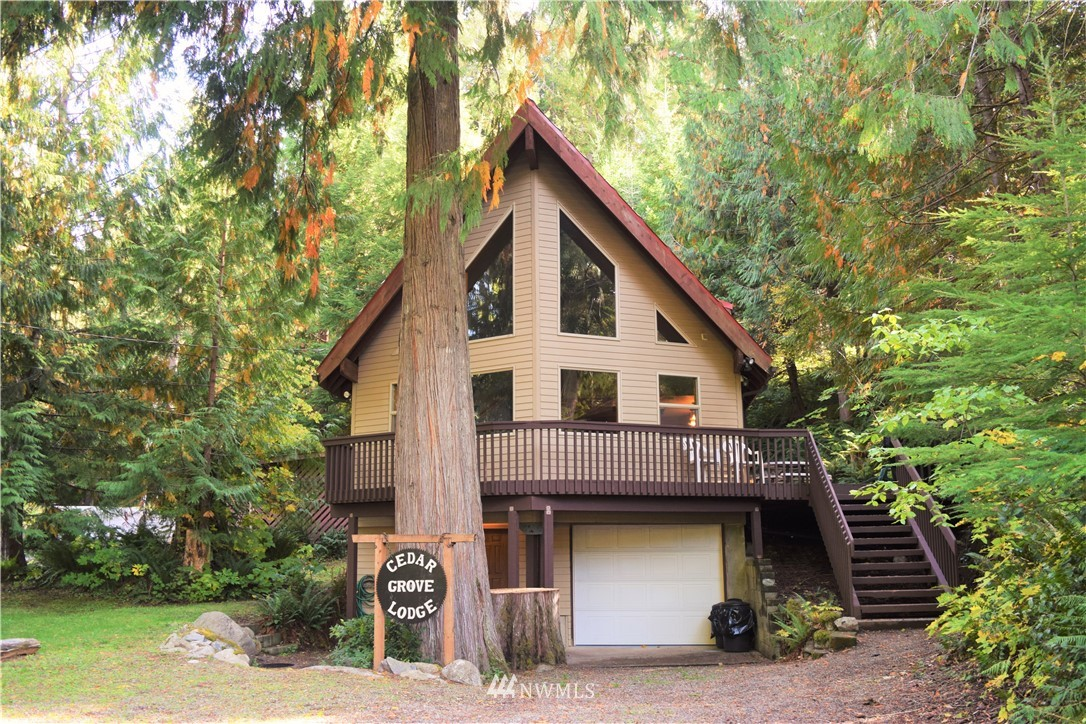 Exceptional Tri-level Chalet in Packwood WA. Offered turn key! All appliances and furniture stay with home. Strong vacation rental history. Located in desirable Timberline community. Access to HOA amenities. Pool, clubhouse, playground, tennis. This home features 3 Bedrooms/2 bathrooms, cathedral ceilings, wood stove, hot tub/gazebo, converted garage into game room, mud room, large deck space, small shed. Lots of space for relaxing or entertaining. Less than 25 minutes to White Pass skiing & Mt Rainier Natl Park. 2 1/2 hours to SEA & PDX .