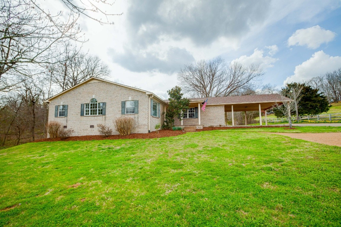 Remarkable Secluded 5.68 acre property in a breathtaking country setting. Prime Real Estate with a partially fenced front pasture and tree lined creek. 3 bedrooms and 3.5 bathrooms with updated kitchen & 20 X 22 Unfin. Basement. The property also includes a 12 x 20 She Shed, 25 X 36, 3 Car Detached Garage and a 30 X 50 Workshop/Garage with Loading Dock. Incredible possibilities with access to Cool Springs and I-65! Best opportunity & Best Price! Nothing compares is a must see! Move in Ready!