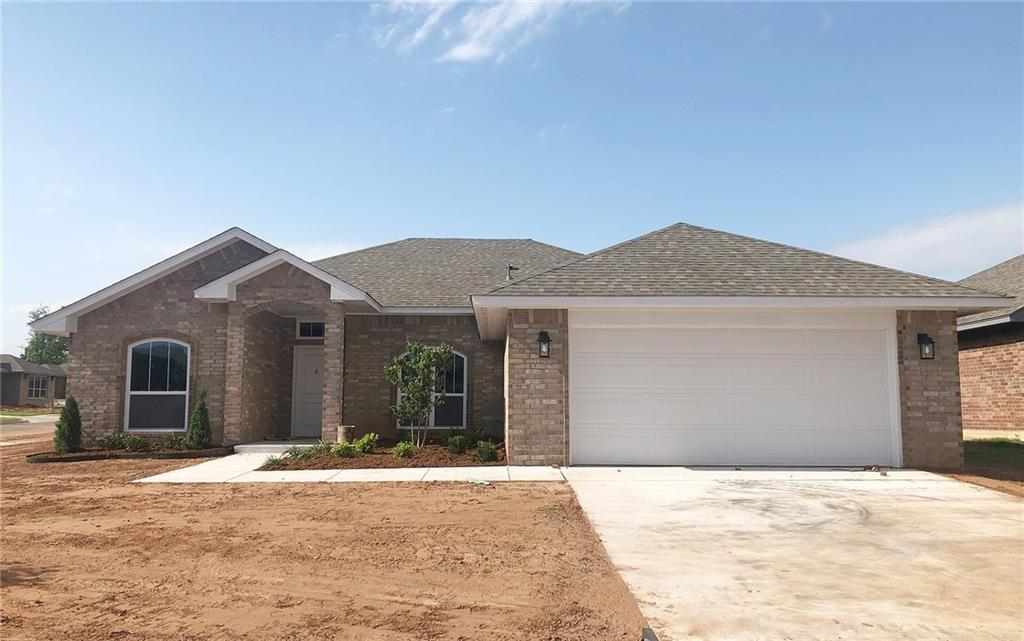 Brand new construction that can be reserved today. This will be the perfect home! Split plan with an office, on a corner homesite, with a wonderful master suite, and beautiful finishes, and a tankless water heater. Warranties and backyard fencing included! Home is located in the Norman School District just south of Highway 9, off of 12th Ave SE, just west of Highway 77. Proximity to The University of Oklahoma makes this community a convenient place to call home for faculty, students and sports fans. This location also allows you easy access to multiple Highways including I-35 which makes shopping, entertainment, and commutes to OKC or Tinker AFB a breeze.