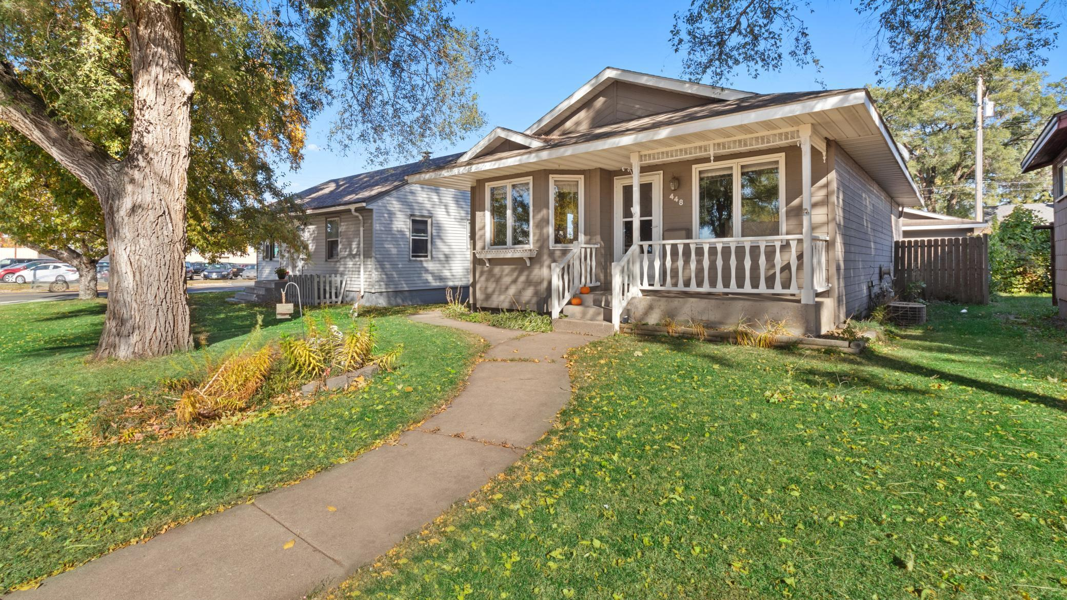 4 bedroom, 2 bath rambler with a 2 stall garage.  Fenced in back yard. All appliances are included. Cute front porch. Very convenient location.