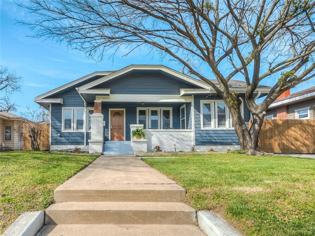 **Open House on Saturday from 1:00-3:00pm** Just a few steps from the Plaza District, this stunning renovated home awaits its new owners. Charming curb appeal and a spacious front porch create a wonderful first impression feeling that is only amplified by the interior. An abundance of natural light and original refinished wood flooring across the sitting area, living and dining welcomes you. The kitchen features quartz counters, beautiful appliances, ample storage and updated cabinets. Both bathrooms are wonderfully remodeled! This home has newer windows, tons of storage, a privacy gate leading to more than enough parking, a first level interior laundry room, newer plumbing, newer electrical, newer HVAC - all rare finds in a historic area! Welcome Home!
