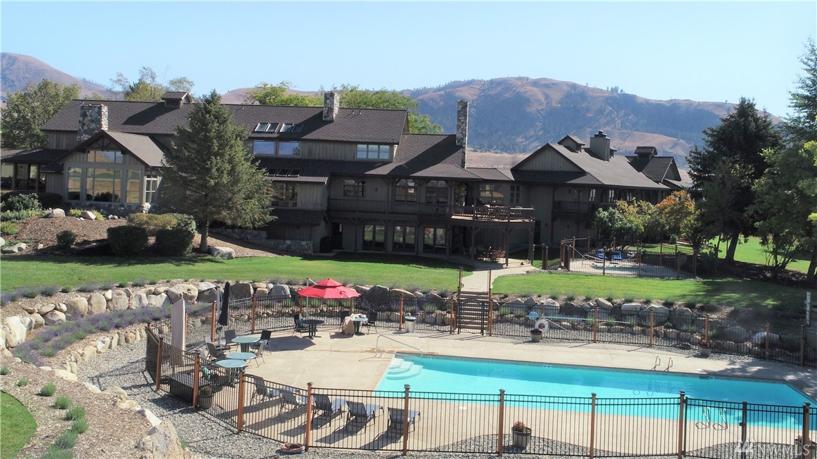 "This 23,000 sq ft Lodge on 275 acres has been completely remodeled and retrofitted with upgrades to be the destination resort located in the heart Methow Valley in North Central WA. Upgrades include a new in ground spa and pool 100 year roof and more. Fully licensed Hotel, Kitchen and Bar with Wine Beer and Spirits. New theater room with 75"" TV and Surround Sound. Lodge and Pool ADA compliant with all new lifts and ramps. Log home and original farmhouse are also used as nightly rentals."