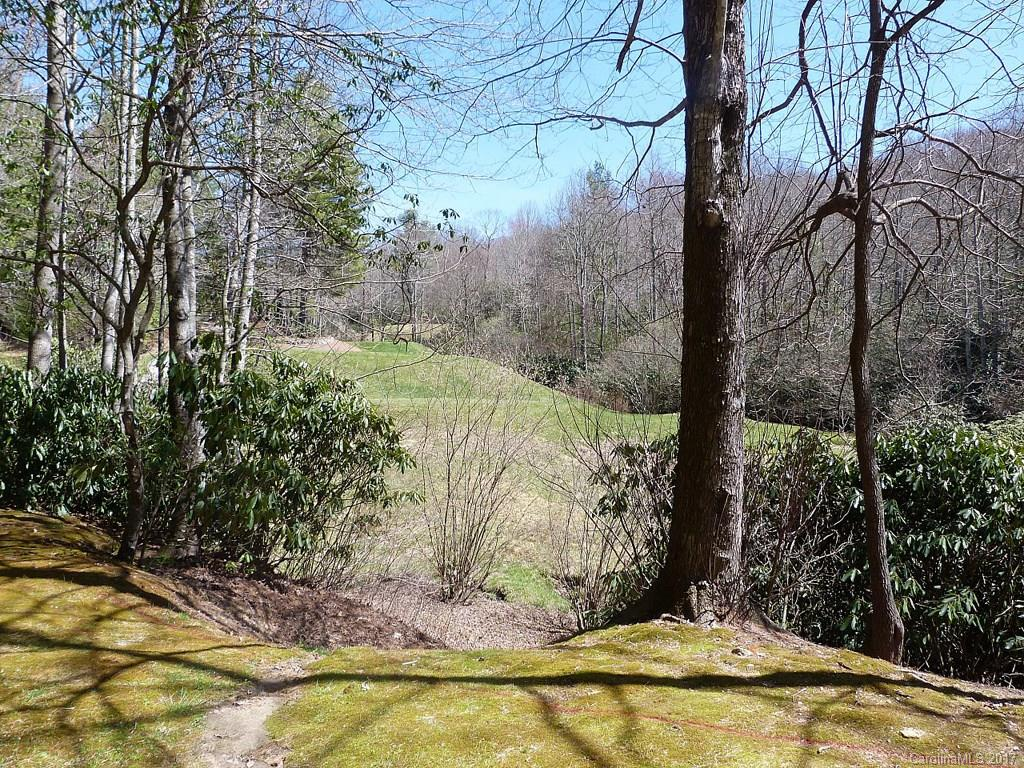 This lot has a beautiful setting with a noisy stream and views of the lovely 11th hole of Tom Fazio's Mountain Masterpiece in Champion Hills.  The building site is set back so it gives a feeling of privacy, yet you have access to the golf course. Located just 8 minutes to downtown Hendersonville in a friendly, debt-free community with completed amenities.