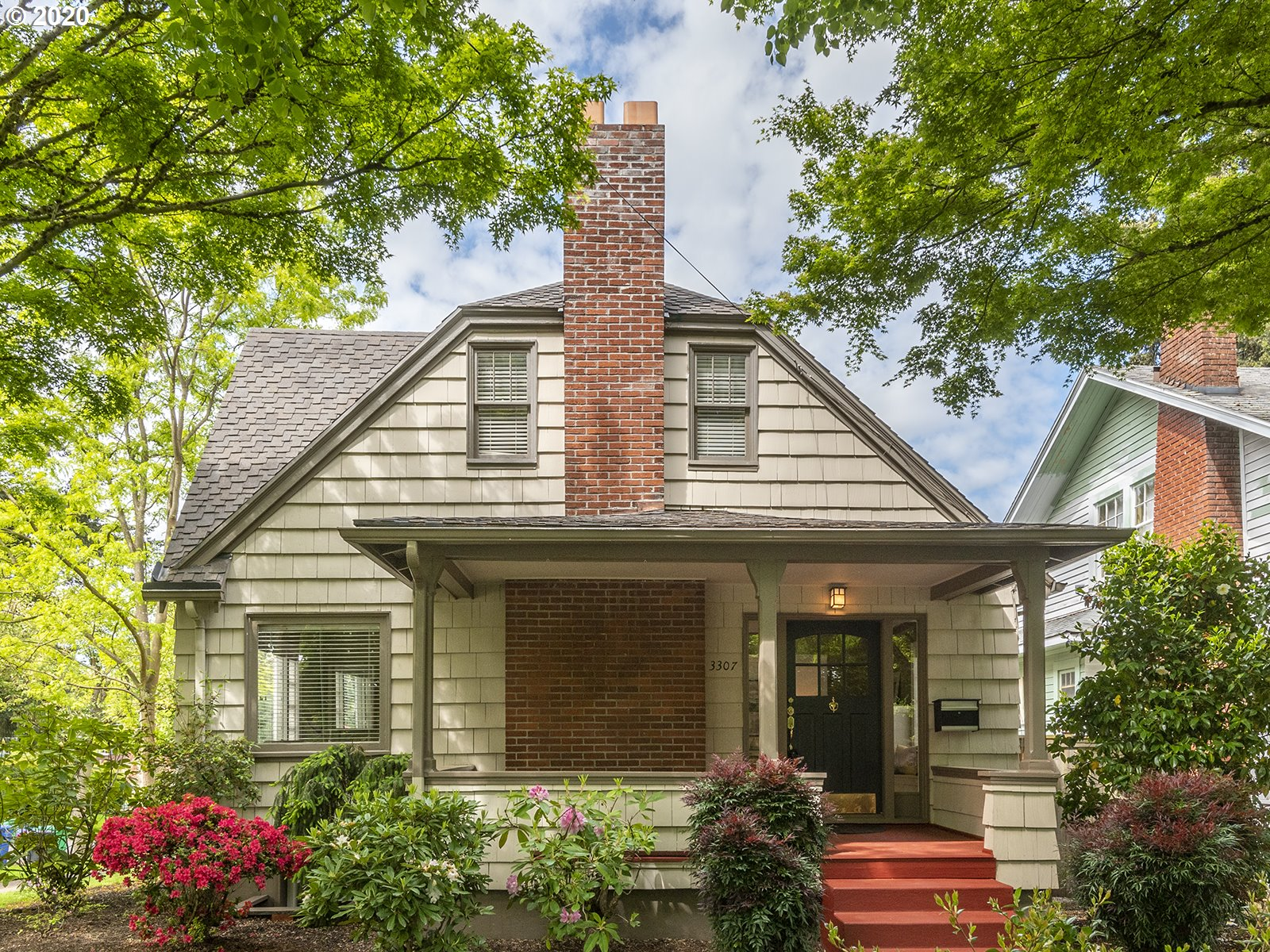 """CLASSY CRAFTSMAN BUNGALOW!IDEAL""""WORK FROM HOME SPACE on main or in finished bsmt.Spacious livrm with great blt-ins,frplc, pocket French doors and hdwds. Formal dinrm w/wainscoting.Generous main flr bdrm + office off LR.Updated kitchen w/granite ctrs,new SS appliances & nook.Extensive top floor vaulted master with blt-ins, beams, walk-in closet and full bath.Bonus up for nursery/office or add'l closet space. Fin. bsmt w/2 bdrms,large famrm, bath & utility. ADU POTENTIAL.Open House 09/13 12-2pm."""