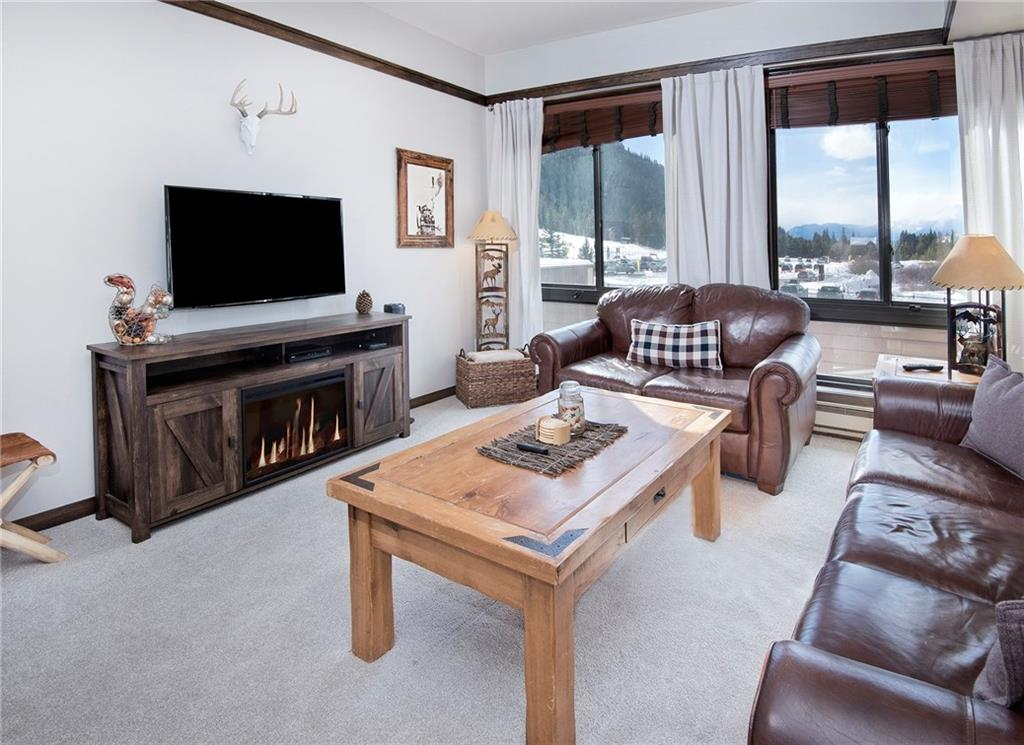 Treat yourself to a ski in/out location at the base of Keystone! This studio is the perfect fit for the weekend warrior, local looking for the ideal location or anyone interested in a rental property. Offered fully furnished with a murphy bed & a kitchenette! Walk out the door to hit the slopes, sit in the hot tub or host a bbq in the common area. There is onsite laundry, underground parking, a private locker & ALL utilities included in the HOA dues! Assessment paid in full by owner at closing.