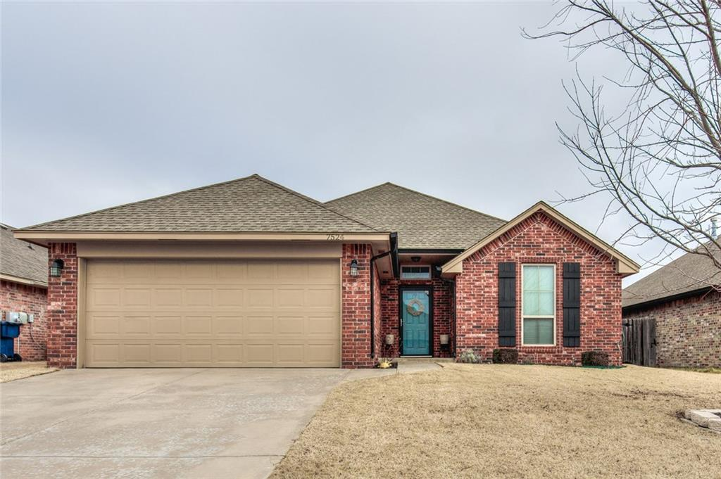 This is the one you've been waiting for! Custom feel, very well kept with lots of updates. Wood look tile, (installed in 2018), in living, dining, kitchen, utility and hall way. Open floor plan with corner fireplace in living area. Granite and stainless kitchen with pantry and breakfast bar. Master suite features whirlpool tub, custom shower, (totally rebuilt in 2018), double sinks and roomy Australian closet. Great utility room with extra storage. Covered patio, outbuilding, no back neighbor! Fantastic location in Yukon schools, NW OKC shopping, dining and entertainment. Easy access to turnpike.