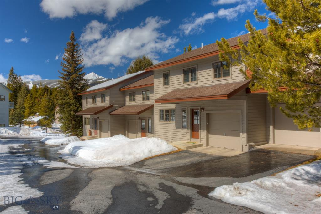 "This is a great opportunity to get your ""foot in the door"" in Big Sky! This is a 1/8th fractional ownership interest in a lovely 3BR/2.5BA Hidden Village condominium affording you approximately 6 weeks per year of usage. You have a spacious living area and a garage plus all of the amenities of the community of Hidden Village with a beautiful outdoor pool for summer enjoyment plus an outdoor hot tub, sauna and recreational building for winter and summer fun."