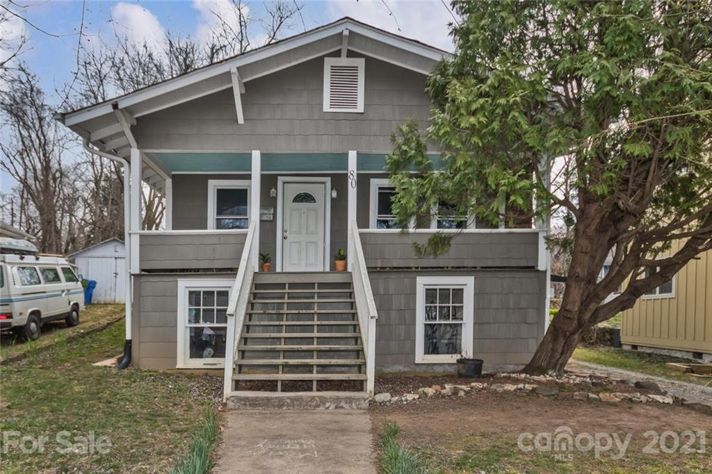 Investor and first time home buyer alert!  Location, Location, Location.  You can have the Asheville lifestyle you dreamed of with this cozy, in-town, cottage.  Walk to the thriving local restaurants, shops and bars of Haywood Road.  Run or ride your bike to the Carrier Park Greenway and River Arts District.  Explore the Bent Creek hiking and mountain bike trails in less than a 15 minute drive.  Sit high on your rocking chair front porch and catch a cool mountain breeze.  There is plenty of dry storage in the basement for your bikes, paddle board, ski and camping equipment. Park your car in the coveted off street parking.  This home is move in ready with fresh paint. Enjoy convenient living in popular West Asheville.