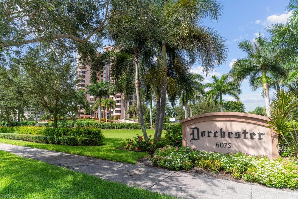 An Exceptional, recently remodeled, residence awaits within the rarely available, also recently remodeled, Dorchester Condominium. Comprised of two bedrooms and two and a half baths among over 1,741 square feet of space. Fantastic gulf views for miles and miles. Further features include an adjacent storage unit, assigned parking and on-site management for your convenience. The Dorchester offers ample amenities for your enjoyment, with renovated common areas, club room, state-of-the-art fitness center, guest suites and more. Ideally situated in much desired Pelican Bay. Minutes away are the beach clubs and restaurants, outdoor recreation all accessible by the tram. Of course Pelican Bay provides proximity to shopping and dining at Waterside Shops, Mercato as well as being just minutes away from downtown Naples.