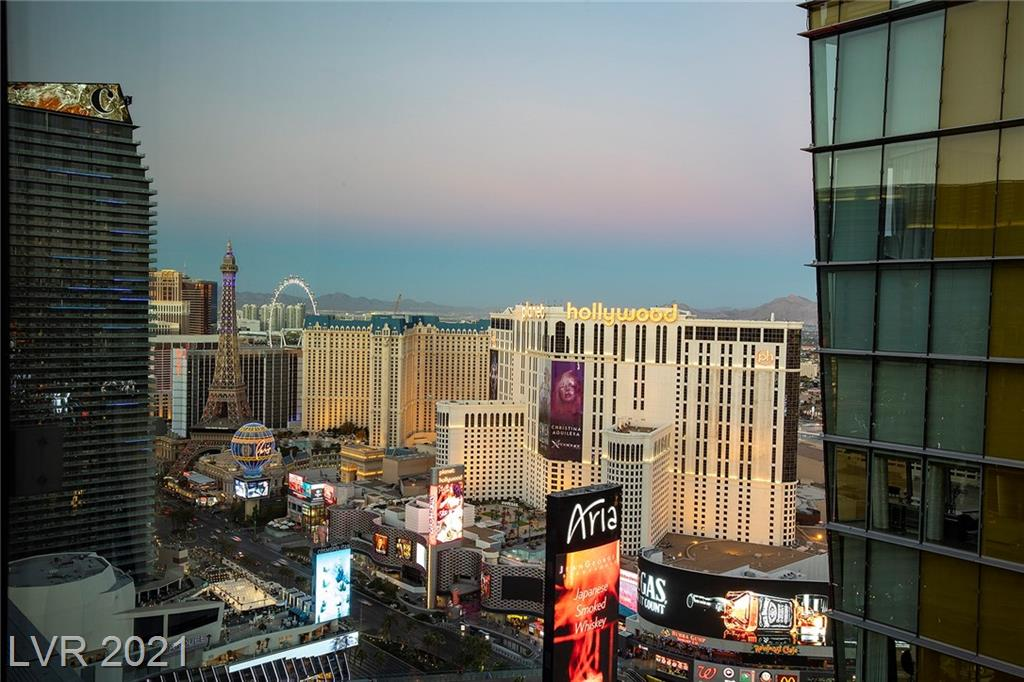 Exceptionally located on the Las Vegas Strip in the heart of City Center. Located on the 34th floor this immaculate, stunning 1 bedroom unit includes quartz countertops, new woodlike tile flooring & automatic shades. Walking distance to TMobile Arena, fine dining, shopping, Aria & neighboring Bellagio. Building amenities include valet parking, rooftop pool, concierge, 24-Hour security, gym, conference room, business center, and more. This unit comes furnished including TV. You won't want to miss this opportunity.