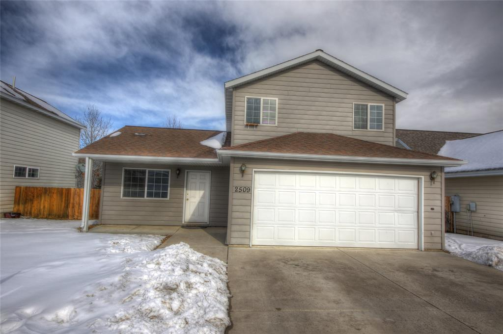 4 bedroom 2 full bathroom home offers just over 1,200sqft. Terrific proximity to anywhere in town. Laminate flooring on main level and carpet in bedrooms. 2 car attached garage. Call today!