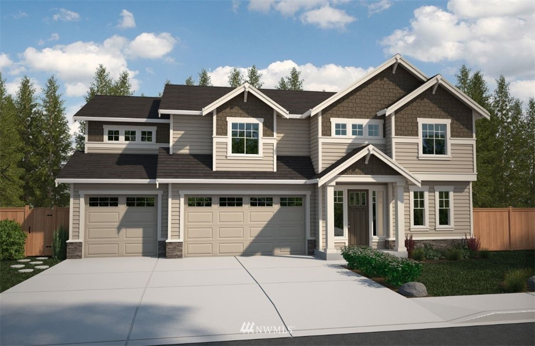 Located within minutes of HWY 167 & HWY 18. 2 fantastic & popular floorplans available By Soundbuilt Homes. On lot 2 is the Valencia Plan with a 3 car garage. This 2750 sq ft 4 bedroom 2.75 bath home w/ a bonus room & den. Large owners suite has an extra sitting area & 2 walk in closets! Laundry on the upper floor. High end standard features include. SS appliances with 2 ovens accent the open kitchen to great room. High end standard features and limited time to choose your own colors/materials.