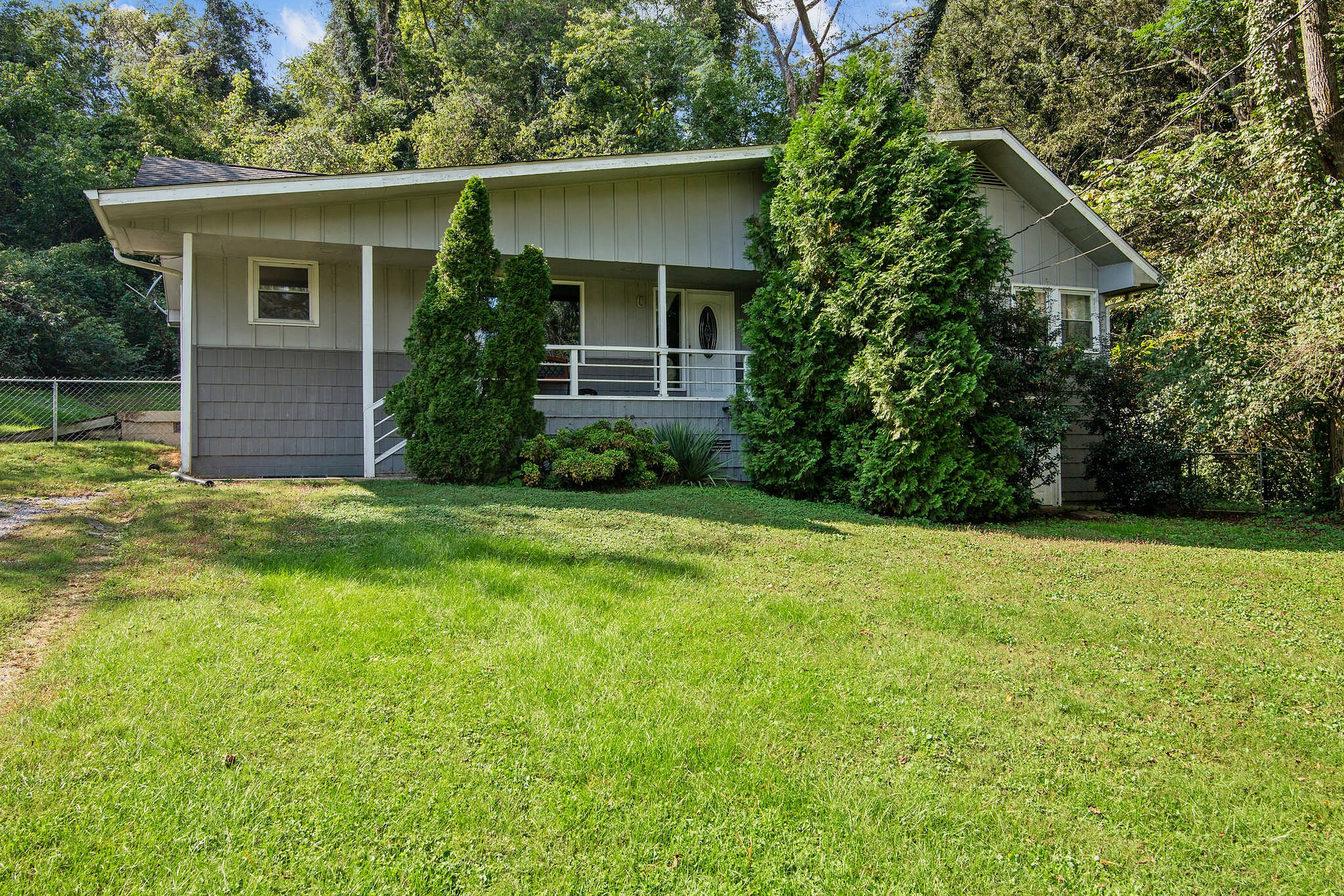 Great family home with tons of potential. Located on a cul-de-sac with a large fenced in private backyard. Home backs up to Mill Creek Park. Hardwood floors on most of the main level. So many windows, lots of natural light. No showings til after 10am 10/15/2021