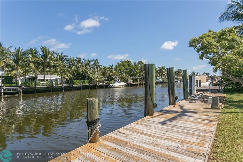 NEW PRICE!  Build Your Dream Home Here!  Now is the time to buy this rarely available 12,500 square foot lot on a prime deep water canal with no fixed bridges to the ocean.  Located in Rio Vista, one of Fort Lauderdale's most exclusive waterfront communities, the lot measures 100' wide x 125' deep, with the potential to build a 4,000 square foot mansion or larger, just steps from the Lauderdale Yacht Club, a 5 minute boat ride to the Atlantic, moments by car to the beach and the exciting Las Olas Boulevard nightlife.  There is no better location to build, and very few similarly sized deep water lots remain available.