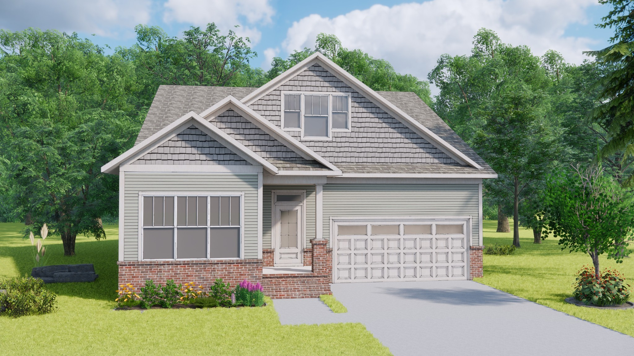 The Siena. Come view one of five new floorplans from Landmark Homes @ Southpoint! Brentwood's newest walkable community located near the corner of Pettus Rd / Nolensville Rd. Come in and pick your lot, customize your new home, and close by the end of the year!
