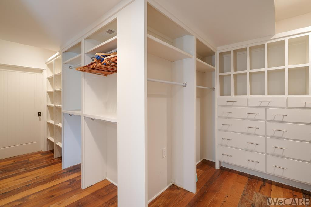 Just one view of this incredible owner's walk-in c