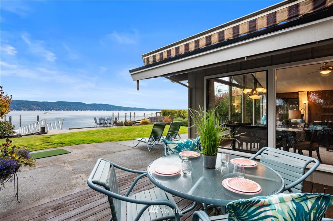 The best of life's memories are created every day on the Hood Canal!  This pristine mid century treasure features everything you could ask for...warm salt water, shellfish for days on your beach, your own private dock, glorious sunsets over the Olympics, fully fenced and landscaped yards (both front & back), 2 car attached garage, loads of storage, AND a private gate to the Twanoh Falls Beach Club.  Single level living with an expansive great room & open kitchen.  THIS is where you want to be!!