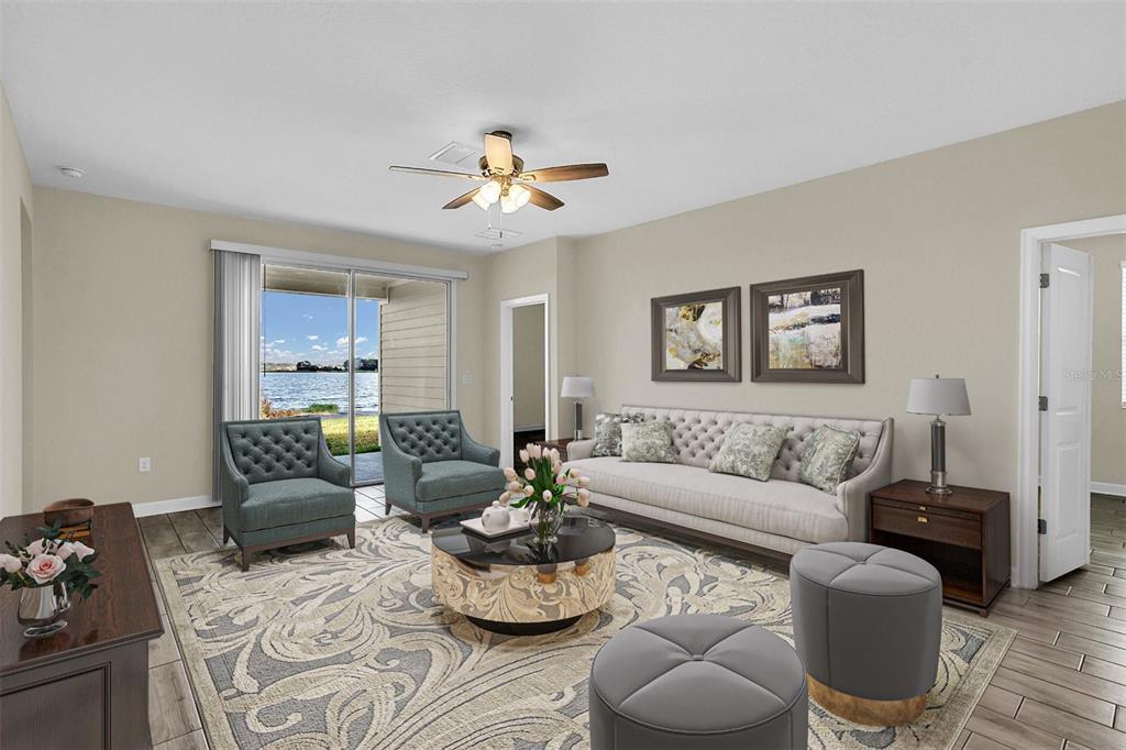 Living room-Virtual stage