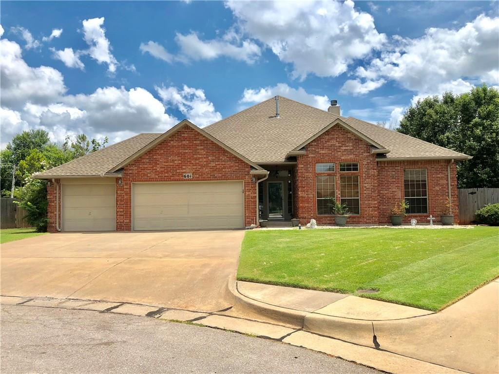 This house has all the room you need! Lots of options with this 6 BEDROOM, 3 LIVING, 3.5 bath house spread across 3628 SF! Property on HALF AN ACRE, in a CUL-DE-SAC! All bedrooms have large closets, & there's a ton of built-ins. Plenty of room to gather in the kitchen area, which has a long breakfast bar, high tech 6 burner jenn-air stove, & double ovens. Kitchen is open to a spacious dining area, & big living room that leads out to a large covered back patio. It's a really great space for large gatherings. 4 beds, 1 living, & 2 full baths are on the right side of the house, & 2 beds, 1.5 baths on the left side. One central living when you enter, & the kitchen/dining/3rd living are in the back of the house. Most of the half acre the house is on is in the backyard, & its lush & green, plenty of room for a pool etc. 12 person STORM SHELTER, alarm system, rear living surround sound in ceiling & central living/3rd living/back patio are also wired.