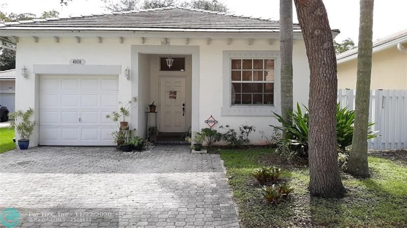 3/2 on canal in gated community. Entire home energy efficient with led & fluorescent lighting. All bedrooms have new wood-like tile. Newer a/c kitchen has granite counters & backsplash along with ss appliances, mirrored niches, fenced yard with waterview, hurricane shutters.