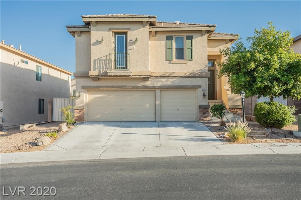 Beautiful 2 story home w/ RV parking with 3 car garage in Spring Mountain Ranch. Split level entry with bed & bath down, living area, and laundry room. Top level has another living area w/ fireplace & surround sound. Kitchen has granite counter tops, back splash, and island. Master bed has walk in closet and balcony. This is a must see before it is gone!