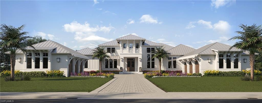 "Award winning, Covelli Development proudly presents this masterfully designed and meticulously constructed home that offers an unparalleled level of finish and quality throughout. This architecturally inspired West Indies masterpiece features over 7,200 square feet of living space including 6 bedrooms, 6-car garage, plus study. All perfectly situated on 1.31 acres. This home truly has it all, a wood paneled custom Library, a two-story living room with rich wood beams, accompanied by an exquisite wet bar area that transforms the space into an area sure to satisfy any entertaining needs. The custom, gourmet kitchen and elaborate pantry boasts Wolf and Sub-Zero appliances. There is a custom designed 45-foot pool bordered by an outdoor living space equipped with motorized screens/shutters, gas fireplace, and fully equipped grill/bar area. A few of the added features include ""Legno Bastone"" wide plank wood flooring, ""Crestron"" lighting system, and a 70 KW ""Kohler"" Generator.  This home checks all the boxes and is sure to impress even the most discerning buyer. This is your opportunity to live in comfortable, timeless elegance.  Anticipated completion date approx. March/April 2021."