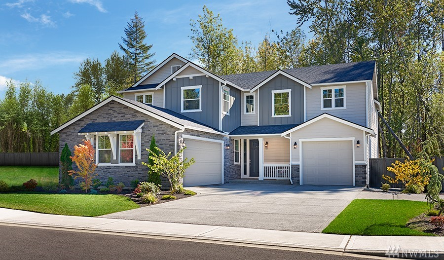 Unique opportunity to own a model home! A grand two-story entry welcomes guests to the inviting Daley plan. The main floor offers a study, a great room with fireplace and an upgraded Chef's kitchen with an immense center island, walk-in pantry and adjacent dining room. You'll also appreciate the covered patio and convenient bedroom with full bath. Upstairs, enjoy a loft and a lavish master suite with a private upgraded bath and walk-in closet.