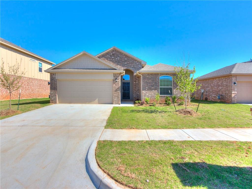 New construction home with post tension foundation. This home features Lo E windows for energy savings. The oxford is an open floor plan concept with 4 bedrooms and 2 full baths. The kitchen features granite countertops, big pantry, and matching appliances. Master Bath includes a garden tub. Home includes a 2-car garage, sprinkler system, tankless water heater, and full fence with metal post. This home is located in a community that offers a Playground and Splash Pad and is right down the street from Lake Overholser and Route 66 Park. Upgrades include a post-tension monolithic slab and energy-efficient construction (with 14 SEER HVAC, 50-gallon water heater, low E windows, and a radiant barrier roof). 10-year RWC warranty is also for the structure as well as the foundation, 2-year plumbing, electrical, and HVAC warranty PLUS the builders 1-year warranty- PRICELESS! Ready end of January