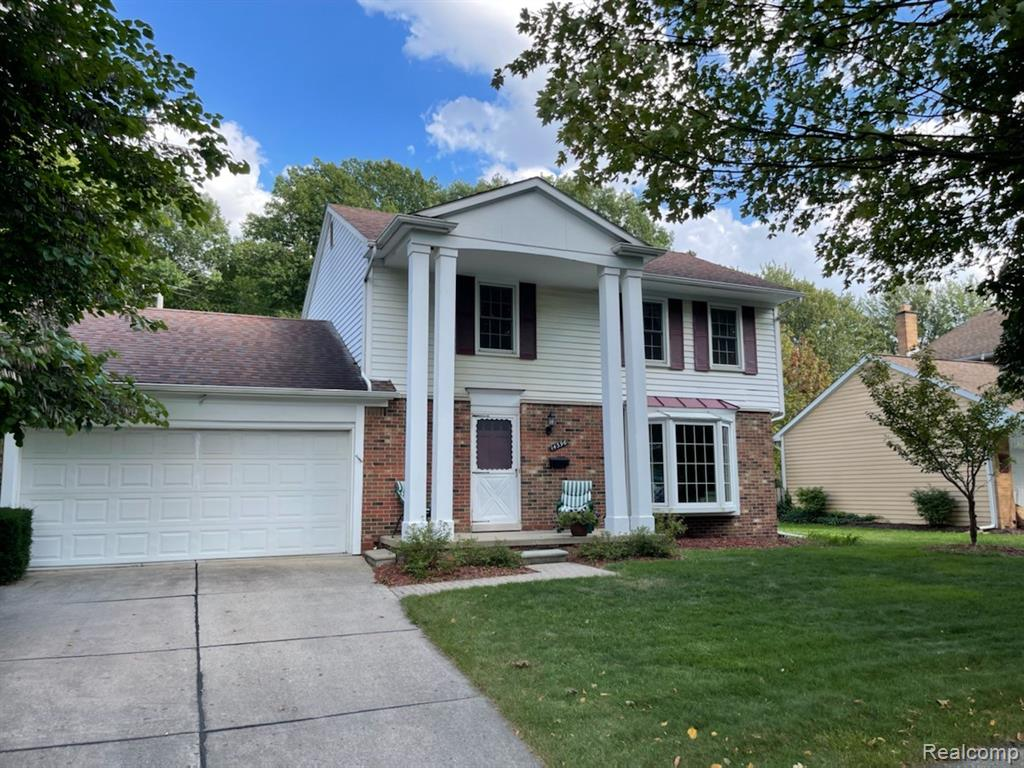 Open House Sunday September 19, 2021.  12-2pm.  Pictures and Virtual tour to  be posted  Awesome home  in Livonias popular Stark Gardens subdivision. This  Classic 4 bedroom 1.2 bath home is just under 1700 sq ft. Enter into large living room with huge bay window. Kitchen includes all appliances and peninsula counter leading to nice size family room with natural fireplace. 1st floor is spacious and offers lots of light - perfect for family gatherings. Second floor has 4 bedrooms and large bathroom.  Basement is finished with bath.  Big backyard with patio, privacy fence and beautiful in-ground pool perfect for outdoor entertaining.  This one is a must see!