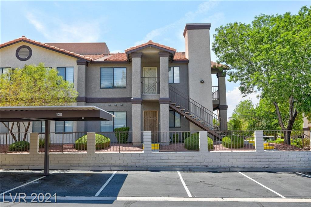 Charming downstairs condo fully furnished with large bedrooms! Granite countertops in the kitchen and bathrooms.  Balcony off the dining nook.  Cozy gas fireplace! Super close to shopping, dining, and entertainment.  Awesome amenities including pool, spa and clubhouse.  Easy to show!! Won't last long!