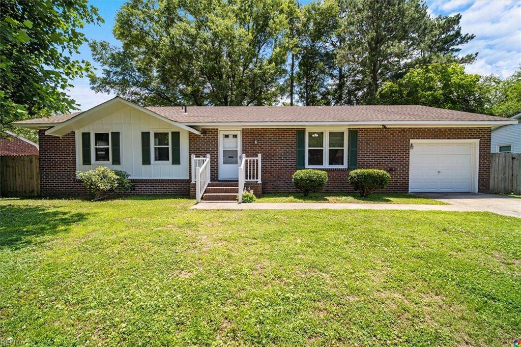 Well maintained, brick Ranch in centrally located Seaboard Estates. Newer roof (4-5 yrs) , AC (2-3 yrs), and Low E Argon Windows (2-3 yrs). Newly stained deck with decent size back yard. Both attached single car garage and detached shed has plenty room for tools and storage. Priced to sell...hurry!!  Won't last long!