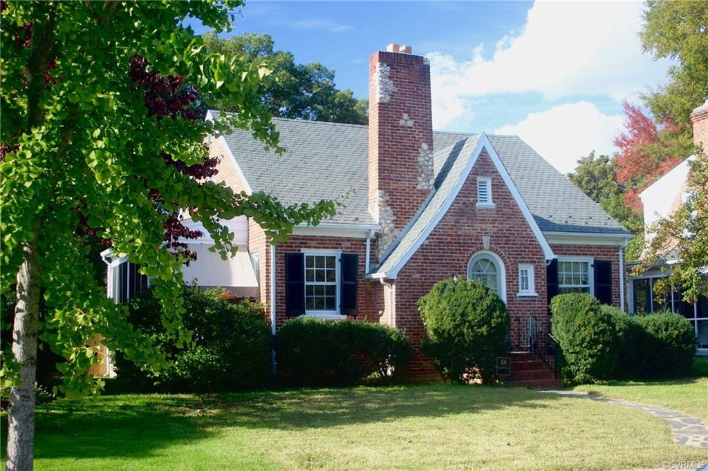 """Lovely Cotswold Cottage of brick with stone inlays. Superb location between Cary and Grove Avenues with Mary Munford School and playing areas directly across the street. Home is being sold """"as is"""". Needs lots of TLC. Great for starting out with a """"clean slate"""" in a great neighborhood or a flip. Showings begin on Thursday 10/29."""