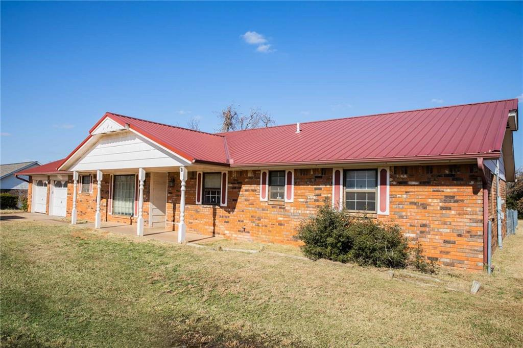 If you've been looking for a property to fix up—this is your chance. Come see this unique property located just outside of Edmond, sitting on 2.5 acres. You can update, remodel, or increase this home's size to suit your taste and family needs. The property has an established yard, a treed pasture, and a metal barn. Buyer to verify schools and HOA, etc.