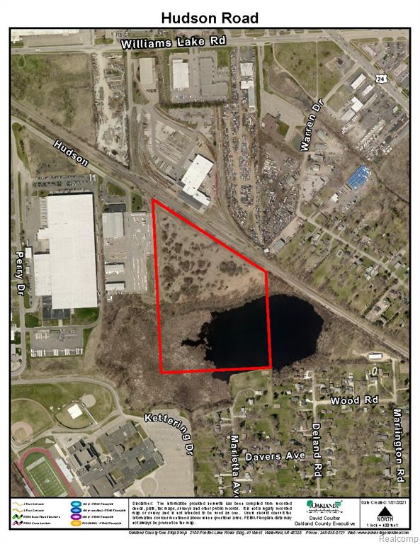 Williams Lake Road Industrial Park - Zoned M2 - Fantastic Opportunity, one of very few Heavy Industrial pieces left.  Cleared Industrial Vacant Land, Priced to Sell! Land contract terms available - can be split, anything goes!  2 Miles from the center of Oakland County, close to M-59 & I-75, Large spring fed pond, over 1000 FT of rail for rail spur,  22.13 Acres - 9.68 Acres Buildable land - Build to Suit!