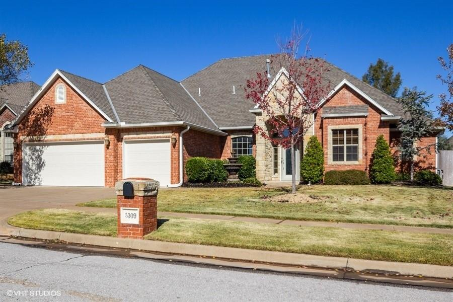 ***MULTIPLE OFFER NOTIFICATION- ALL OFFERS MUST BE SUBMITTED WITH APPLICABLE SUPPLEMENT FORMS NO LATER THAN 11/27/2020 @ 12:22 PM CST***Absolutely beautiful 4 bed 2.5 bath home in great neighborhood in Putnam City School District. Home features new paint and gorgeous wood look tile in September 2019, great layout with a study and formal dining room, fireplace in the living room, large kitchen with breakfast bar, center island, stainless appliances, and pantry, jack and Jill bath between beds 2 and 3, great en suite master bath with separate jetted tub and walk in shower, gorgeous backyard with in ground pool and beautiful landscaping. Make an appointment for a private showing today. Buyer to verify all information.