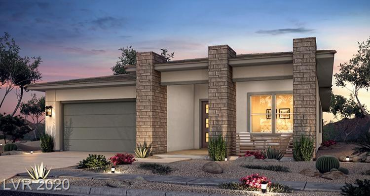 Brand New Single story in Summerlin, Beautiful Home backs to open area with view fencing. Spa like large Walk In shower at Master, Great entertaining in Gourmet kitchen with super island, Great space in the backyard  with a pool-sized lot. Surrounded by one story homes. Home will be complete in June timeframe!