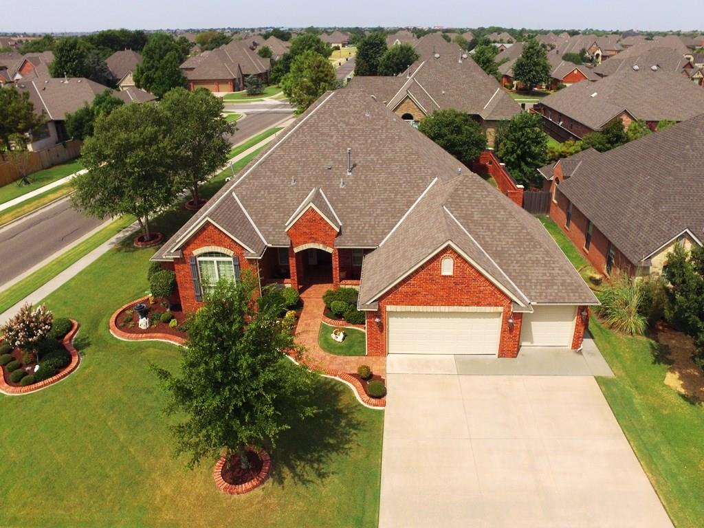 Attention to detail is evident in this immaculate home in the wonderful Willows gated community. Custom built, one-owner home is spacious and has everything you need in a 4BR including a 2nd master BR, a study and an upstairs bonus suite with a kitchenette and half bath. The kitchen has an open concept with the living and dining room, and features two eating bars, granite countertops, & stainless appliances. Plenty of room for outdoor entertaining on the large covered patio or sitting areas on the front porch where you have a great view of the professional landscaping.  The upgrades include a $30k bricked backyard fence with wrought iron gate, a top-of-the-line full house generator with surge protection, plantation shutters throughout, and security cameras. The garage is showroom quality with an upgraded floor, bathroom, it's own heat and air system, and a storm shelter. The third car area has cabinets for a hobby or multipurpose room. Call for list of adl features. This is must see !!