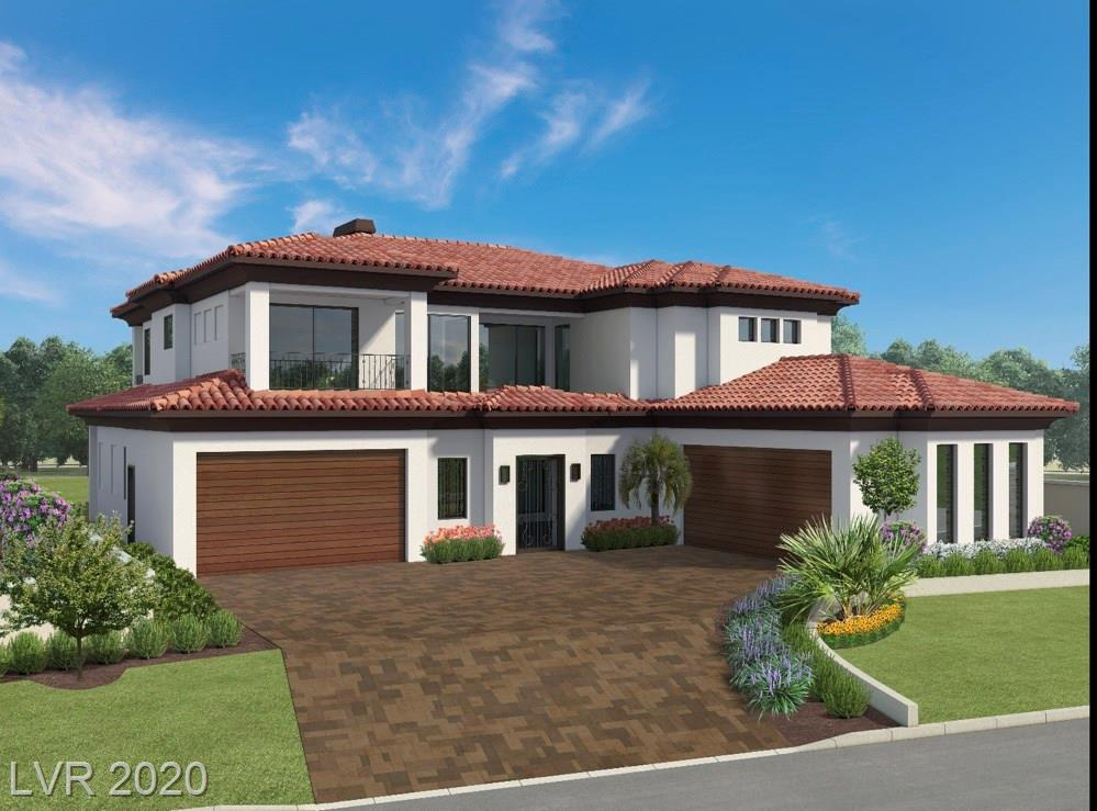 Opportunity awaits you in this architectural masterpiece under construction by award winning luxury custom builder Elegant Homes. 5400+ square feet of open living space. Four en-suite bedrooms, media room, gym and gourmet kitchen with top of the line Wolff appliances. Equipped with an elevator, four car garage and pool/spa. Situated on the 6th hole of South Shore Golf Course with breathtaking views. The master suite includes an outdoor patio to take in the beautiful vistas. This home is located in a gated community within the guard gated community of prestigious SouthShore in Lake Las Vegas. Live your dream!    SID/LID assessment has been paid in full.