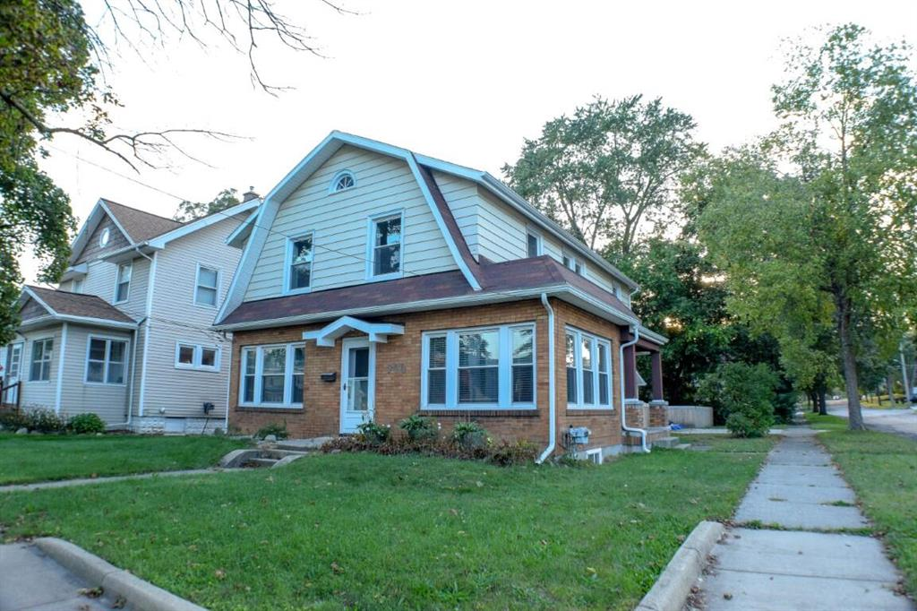 A beautiful two story Dutch Colonial home located in the historic Queens neighborhood of Jackson with nearly 2,000 sq. ft. of living space. This four bedroom one and a half bathroom home has been completely upgraded.  There are new energy efficient windows throughout. New high efficiency furnace, air, and water heater were upgraded in 2018. There is a remodeled kitchen with white shaker cabinets and all whirlpool appliances. The home comes with a newer full size stackable washer/ dryer (2018), a second refrigerator in the pantry, and a second freezer. Other features include a large master bedroom with a walk-in closet, first floor home office, a cedar fenced backyard, new 1 1/2 stall garage, new large concrete private outdoor patio, and a home security system.Electrical systems were upgraded in 2019. This home is ready to live in with no need for upgrades. It is move-in ready and priced to sell quickly.