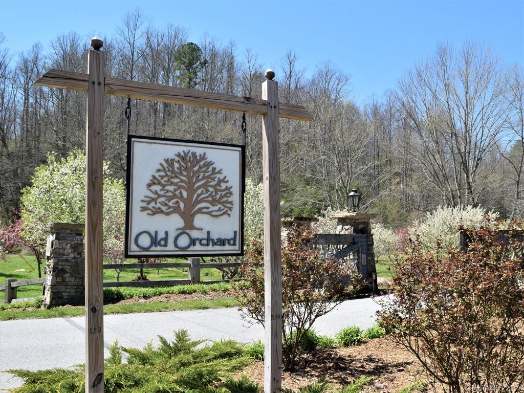 Build your dream home on this wooded home site in a country setting that provides privacy and convenience too! The blooming community of Old Orchard is peaceful and tranquil and offers residents private access to a pool, clubhouse, creek and picnic areas. Easily accessible from Hendersonville, Lake Lure and Chimney Rock, and just minutes to I-26. 4 Bedroom Septic Permit on file from 2007.
