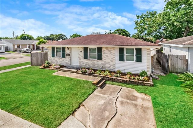 Well maintained 3 bed 2 full bath home on corner lot with rear yard access.  New floors, 2 year old a/c system.  All new energy efficient windows. Stainless steel appliances.  Office could be used as 4th bedroom if needed.  Never flooded!  Call today to view!